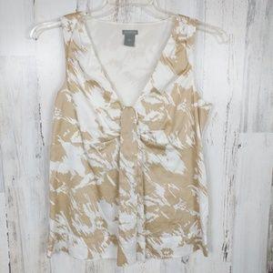 🌿 Ann Taylor Medium Sleeveless Blouse Tank Top